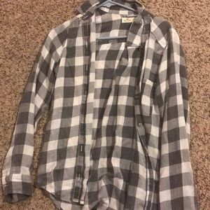 a flannel